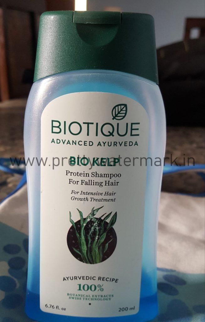 Biotique Bio Kelp Protein Shampoo For Falling Hair -Review