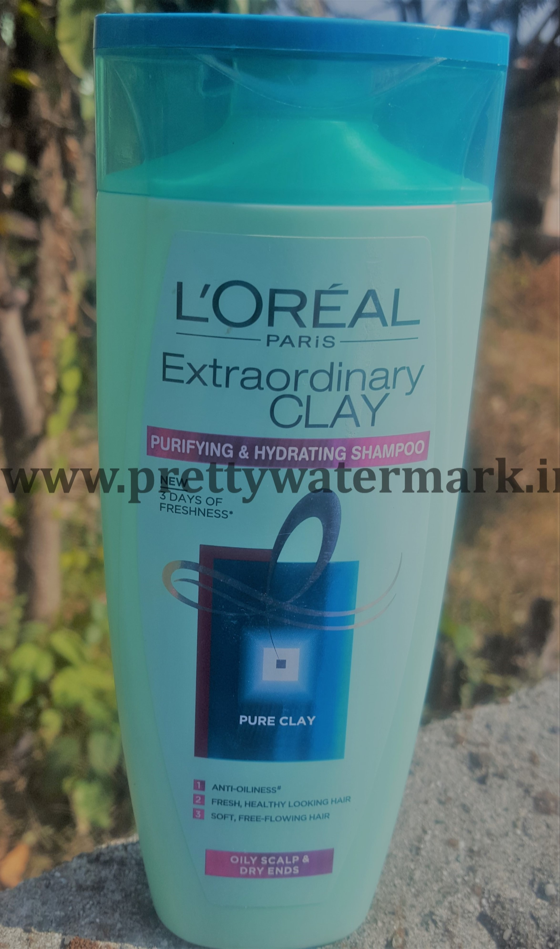 L'OREAL PARIS EXTRAORDINARY CLAY SHAMPOO -REVIEW